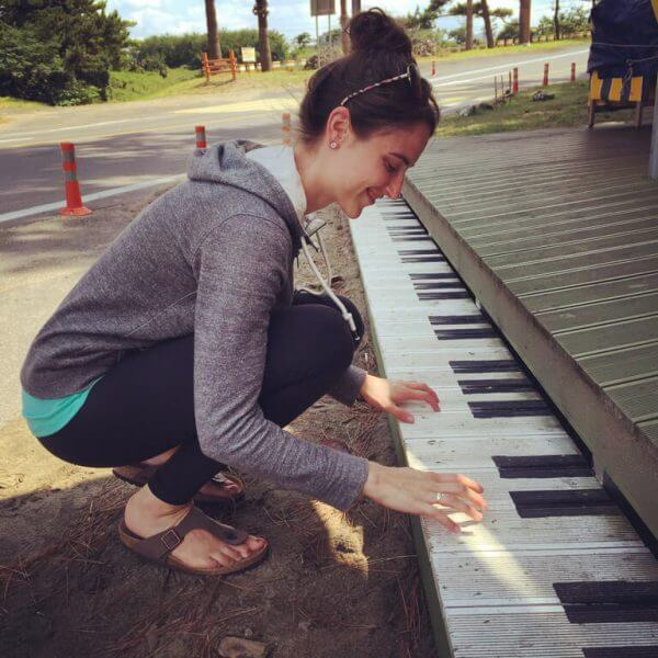 Piano Fun on Jeju Island