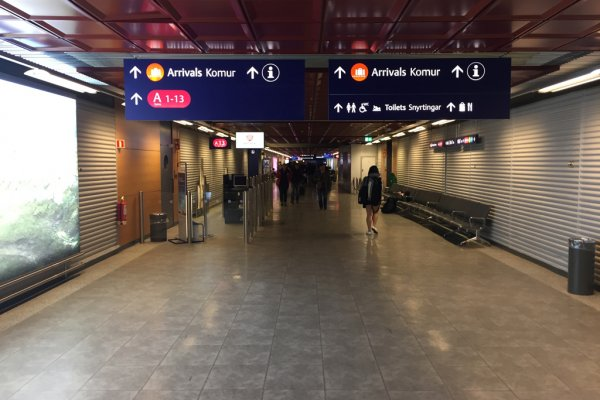 Unwelcome to Iceland at Reykjavik Airport