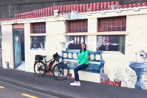 SwitchedOnBikes Wellington Mural1