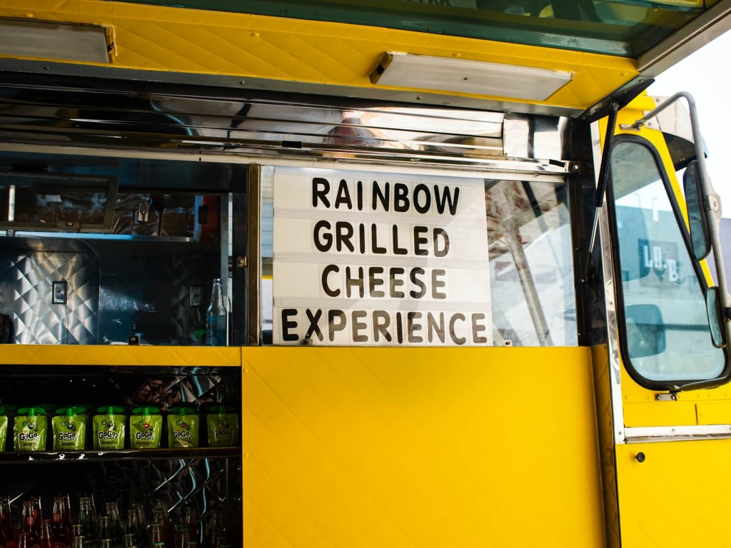 Yellow Food Truck Awning by Shari Sirotnak on Upsplash
