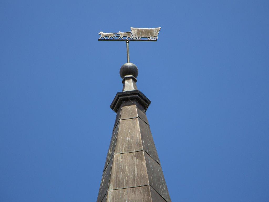 Conestoga Wagon Weathervane at Waterloo's Tower
