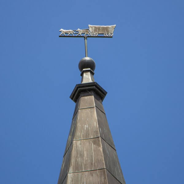 Conestoga Wagon Weathervane at Waterloo's Tower