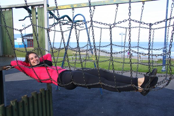 Hanging out in Bundoran, Ireland