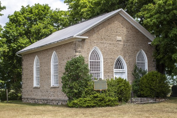 The Famed Paris Plains Stone Church in Canada