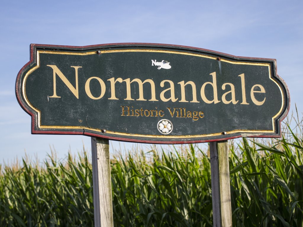 Welcome to Normandale, Ontario up close