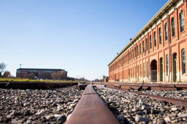 Railway Tracks Near CASO Station